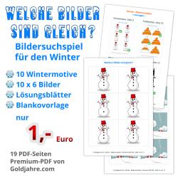 Winter - Bildersuchspiel...