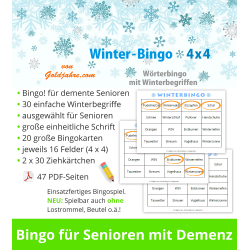 Winter-Bingo 4x4 für...