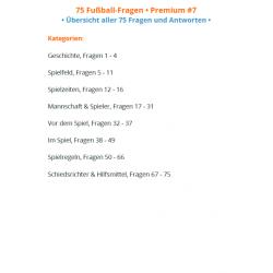 75 Fussball Fragen Mit Vielen Extras