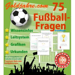 75 Fußball-Fragen mit...